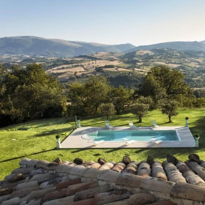 Villa Arum Lily pool
